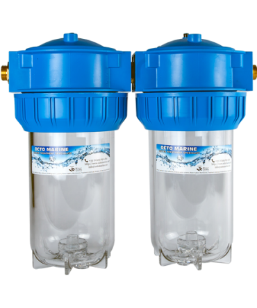 Duplex High Flow Filter Housing