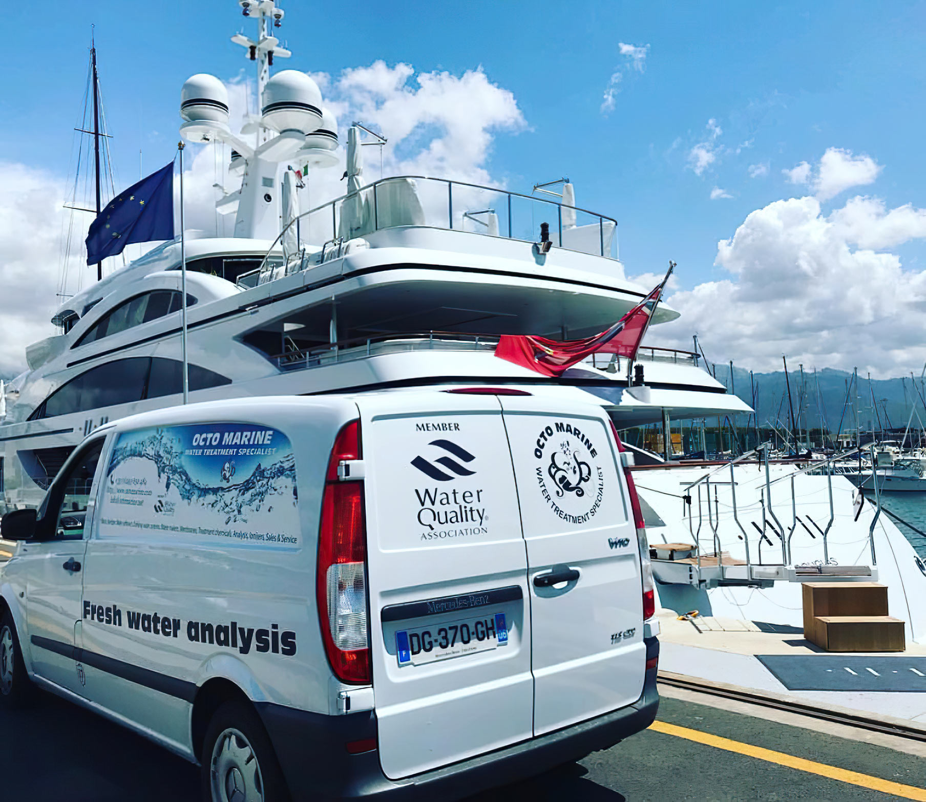 Octo Marine Announce Partnership with Seal Superyachts